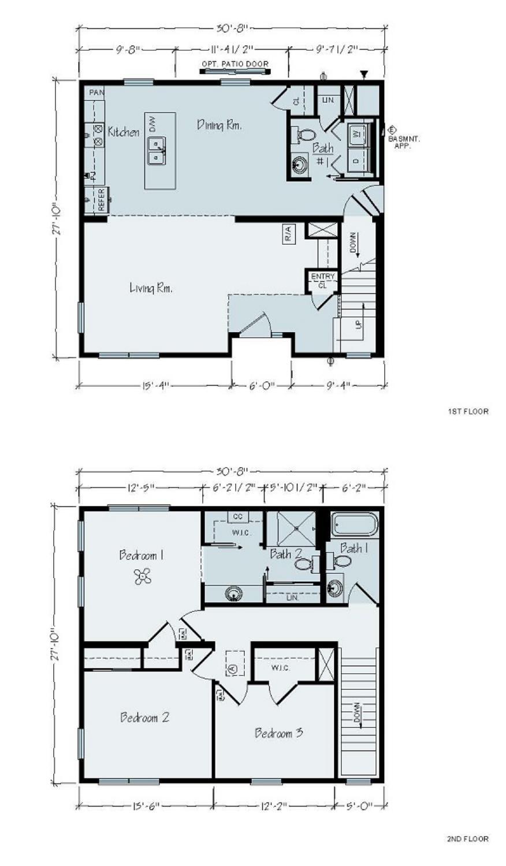 2 Story Floor Plans Cmb Construction Management Company