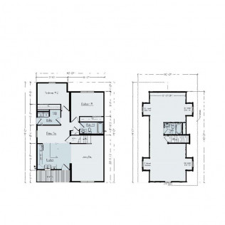 Huron 1045 Floor Plan