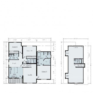 Huron 1495 Floor Plan